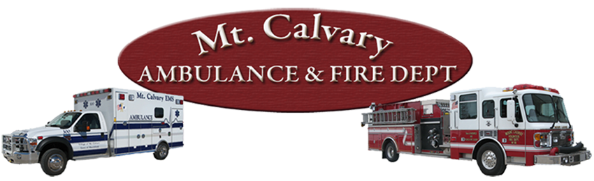 Mt. Calvary Ambulance and Fire Dept.
